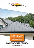 Montageanleitung für Dachpaneele mit Stehfalz 2