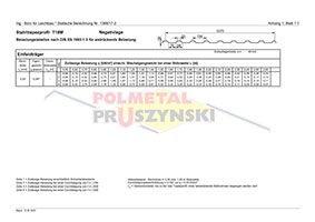 Belastungstabellen T18M, T35DR, T35E, T50P, T55P, T92P, T130, T135P, T150, T160