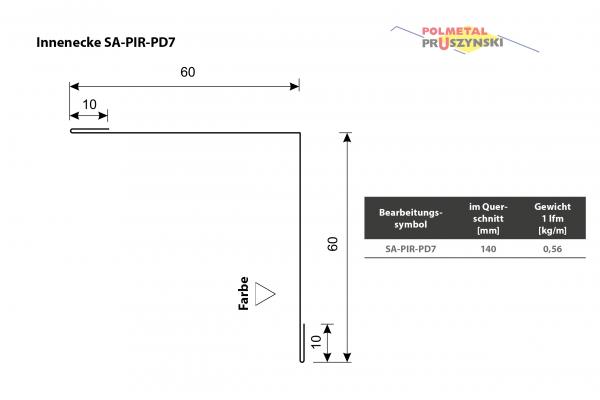 Innenecke SA-PIR-PD7