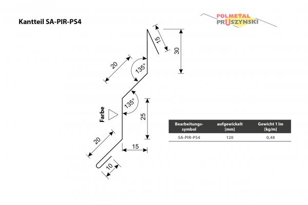 Außenecke SA-PIR-PS4