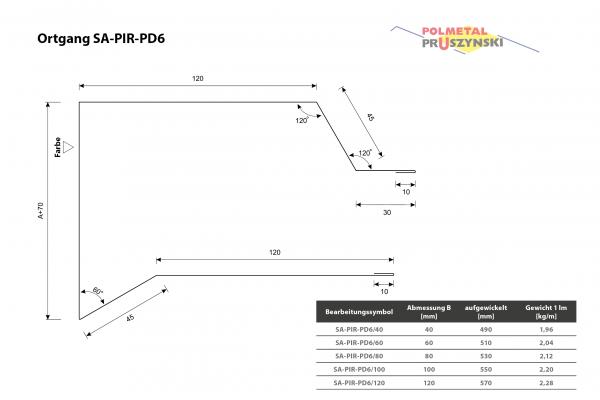 Ortgang SA-PIR-PD6