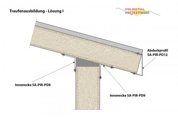 Abdeckprofil SA-PIR-PD12
