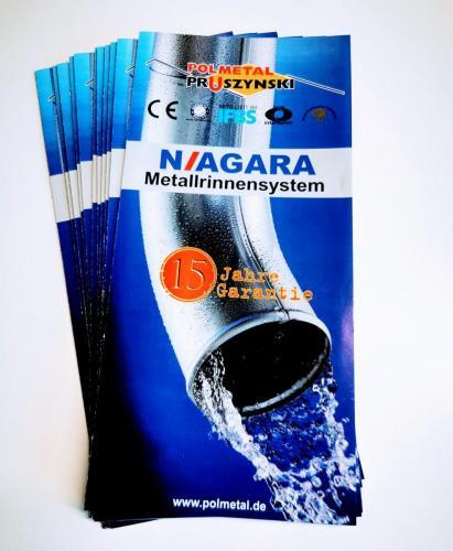 M7 NIAGARA Metallrinnensystem Flyer