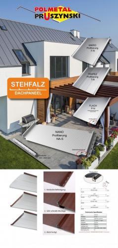 M9 Roll up Stehfalz 100x200cm