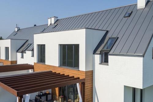 Dachpaneele mit Stehfalz