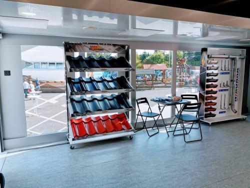 Mobiles Ausstellungs- und Schulungszentrum